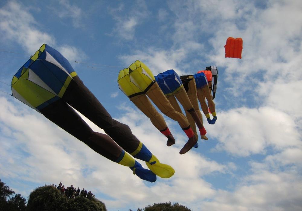 Am 14. Oktober schweben die Drachen wieder über dem Prinzenpark. Fotos: Öffentliche Sachversicherung