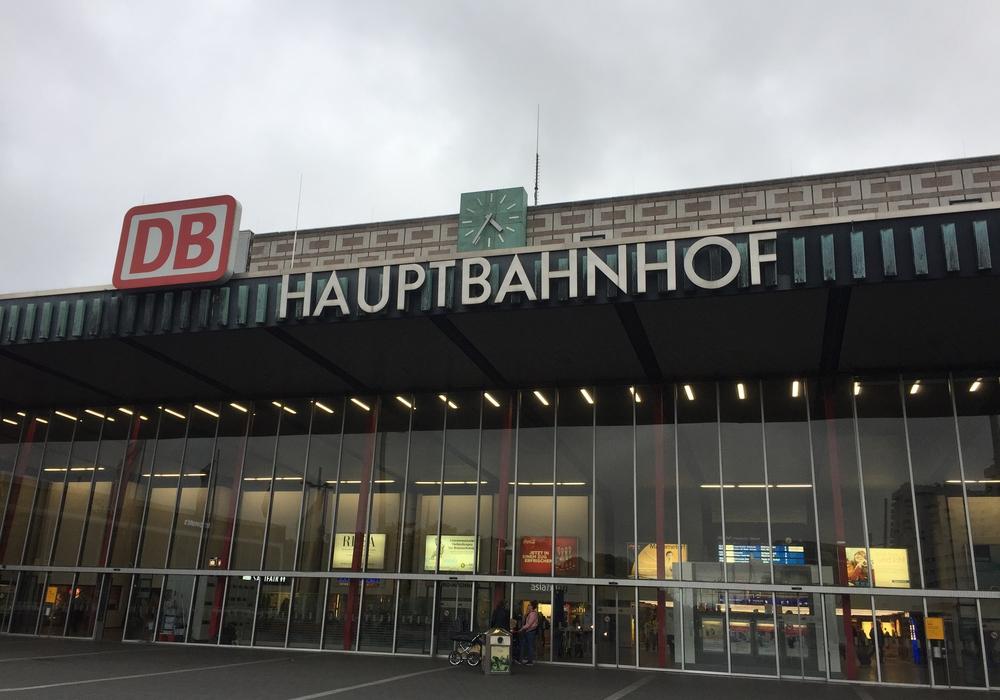 Der Braunschweiger Bahnhof, Foto: Archiv