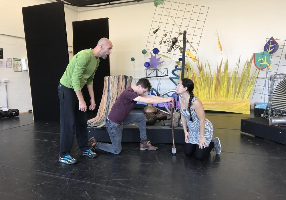 Proben für Der Zauberer von Oz auf der Probebühne (c) Theater Christian Madler .jpg