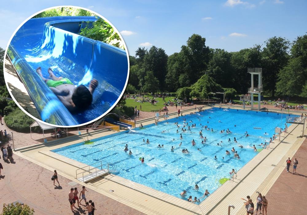 Tradition seit 1982: Die Wasserrutschmeisterschaft in Braunschweig. Foto: Stadtbad Braunschweig Sport und Freizeit GmbH/Fabian Neubert