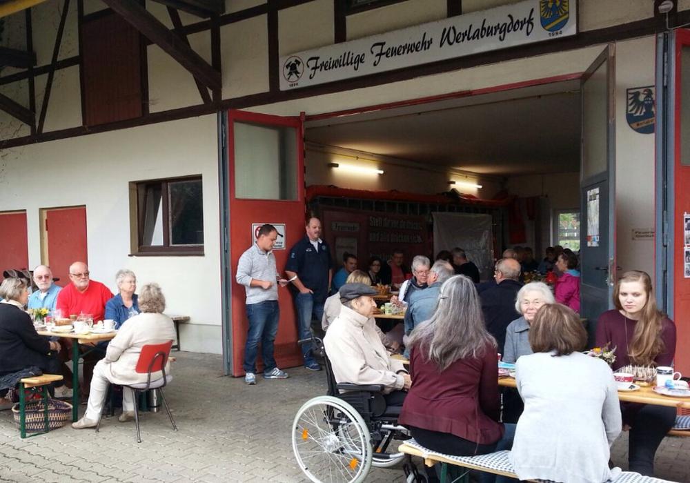 Gut 80 Teilnehmer besuchen Werlaburgdorfer Bürgerfrühstück, Foto: privat