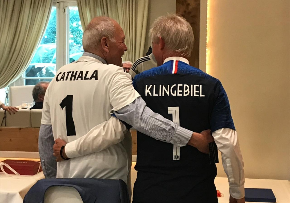 Laurent Cathala (li.) und Frank Klingebiel. Foto: Stadt Salzgitter