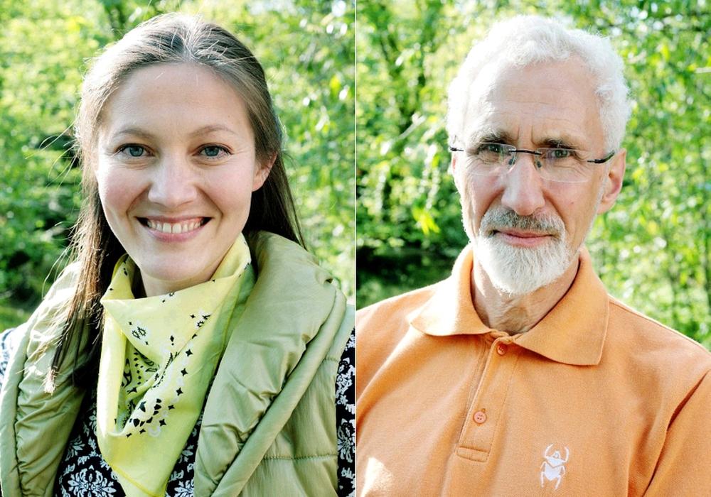 Anna Fagan und Manfred Kracht. Fotos: Bündnis 90/Die Grünen