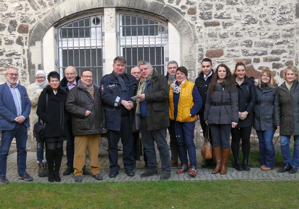 Der CDU-Stadtverband zu Besuch in der JVA Wolfenbüttel. Fotos: privat