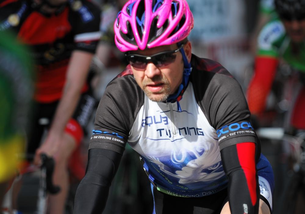 Inklusion total: Der Unternehmer Andreas Rudnicki aus Braunschweig ist Familienvater, Leistungssportler und schwerbehindert. Foto: Privat