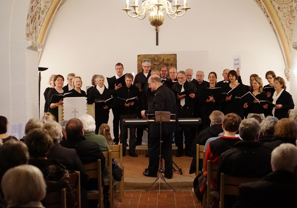 Das Konzert in Cremlingen fand großen Zuspruch. Foto: Volker Brandt