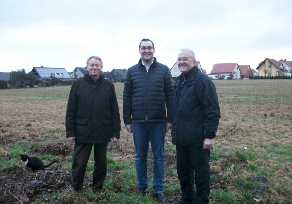 Dr. Manfred Bormann, Andreas Kleindienst und Johann Seifert (v. li.,  alle CDU). Foto: privat
