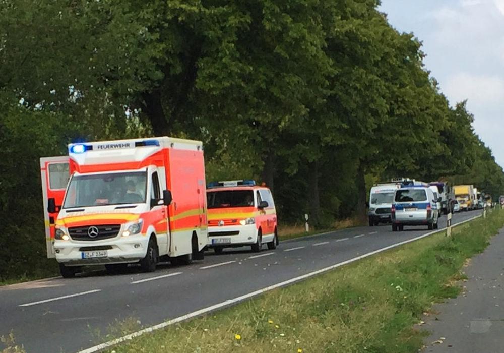 Trotz großer Bemühungen konnte der Rettungsdienst dem Mann nicht mehr helfen. Foto: Alexander Panknin
