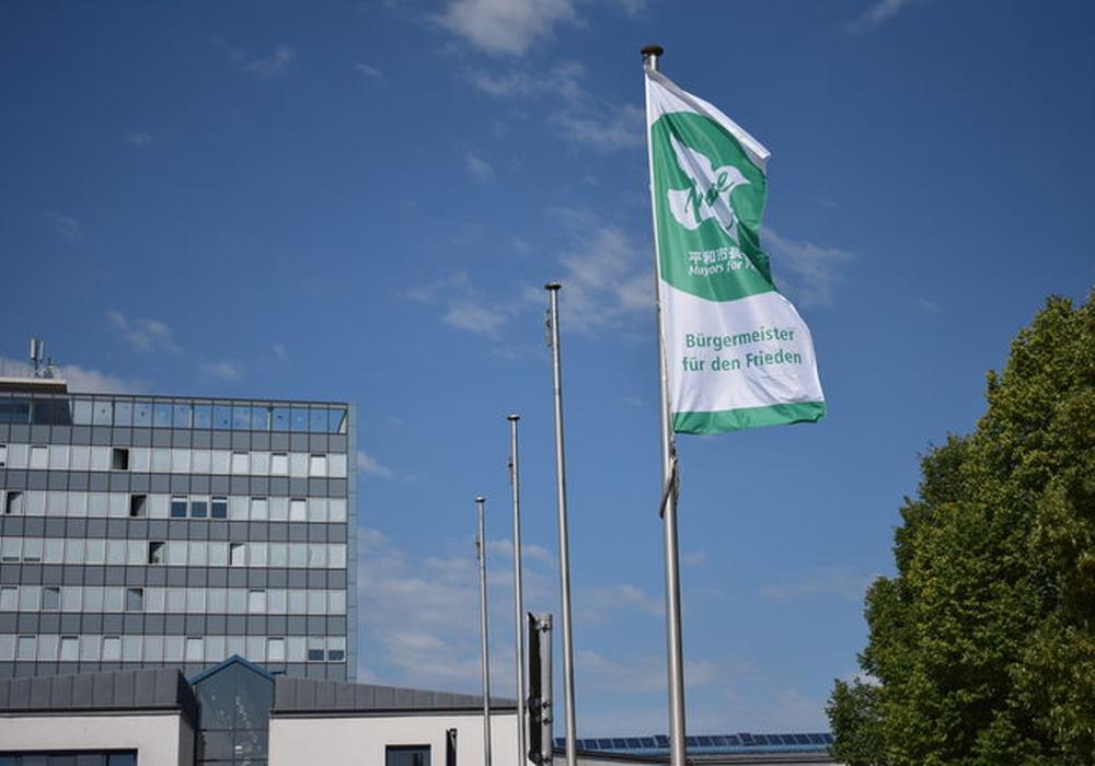 Internationaler Flaggentag in Salzgitter. Foto: Stadt Salzgitter