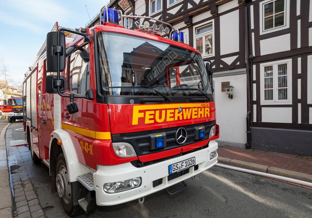 Gleich zwei Einsätze hintereinander musste die Feuerwehr Goslar abarbeiten. Symbolfoto: Alec Pein