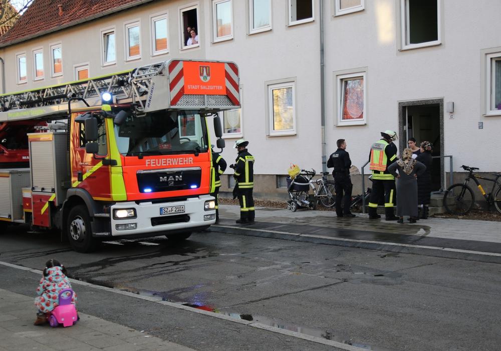 Am Samstagnachmittag brannte eine Küche in Lebenstedt. Foto: Rudolf Karliczek