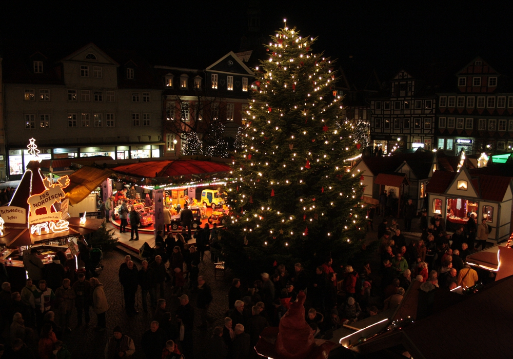 Auf vielen Weihnachtsmärkten wird am ersten Advent ein großer Andrang erwartet. Foto: Werner Heise