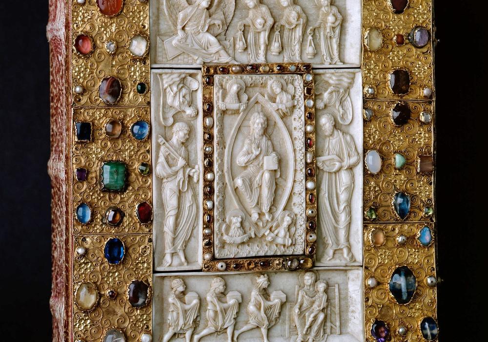 Evangeliar aus St. Ägidien, Ende 12. Jahrhunderts, Herzog Anton Ulrich-Museum Braunschweig. Foto: Fotowerkstatt, Herzog Anton Ulrich-Museum