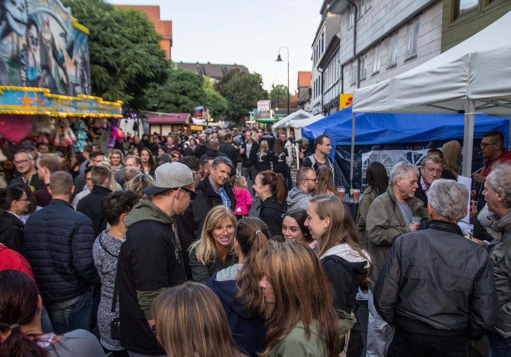 In Salzgitter-Bad wurde am Freitagabend das Altstadtfest eröffnet. Fotos/Podcast: Karliczek