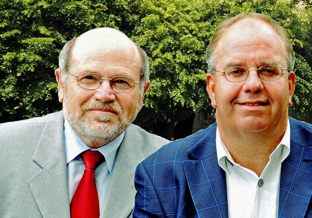Michael Hausmann und Heinz-Jürgen Wiechens sind für den Gemeinderat nominiert wurden Foto: SPD