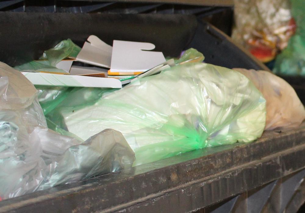 Die Müllentsorgung in der Innenstadt stellt die Verwaltung weiterhin vor Herausforderungen. Foto: Nick Wenkel