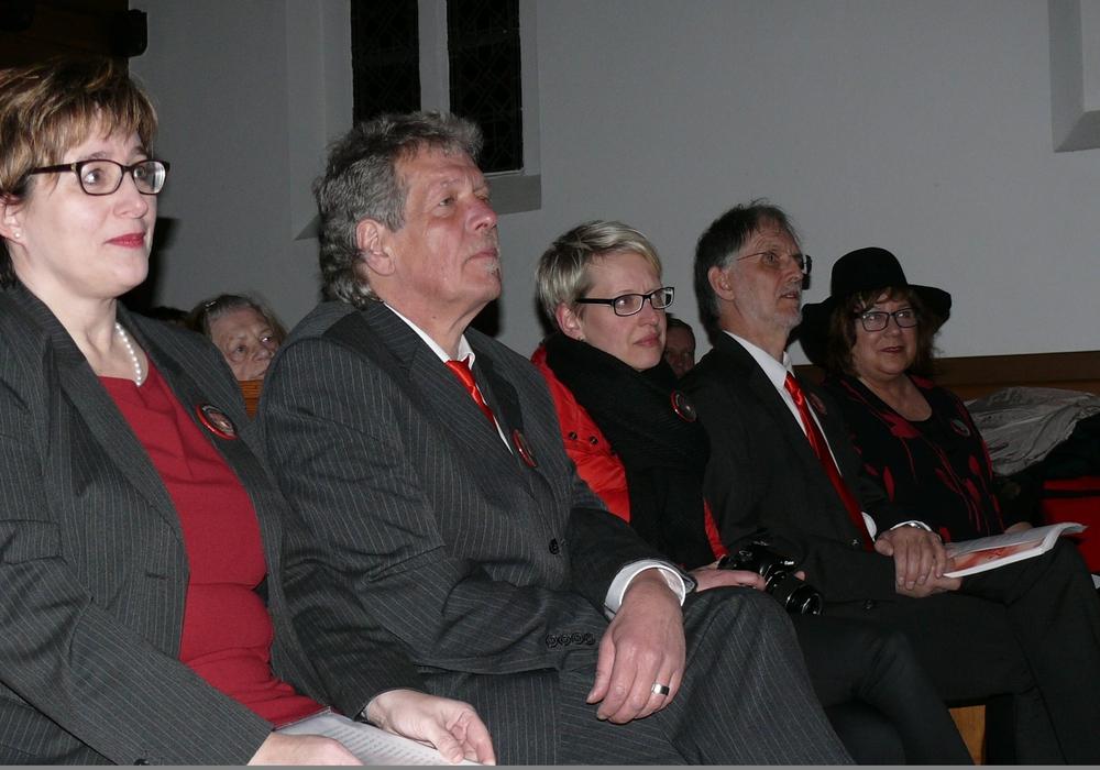Die Zuhörer lauschten gebannt. Fotos: Frank O. Witt