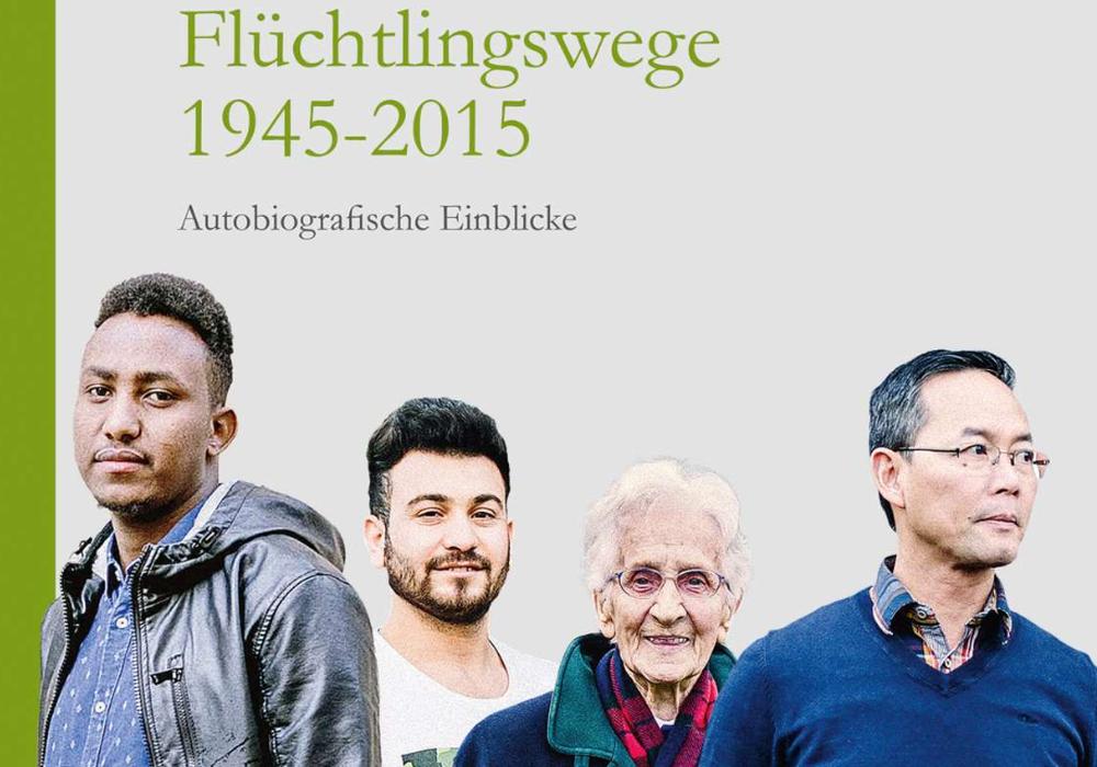 """Im Buch """"Flüchtlingswege 1945–2015"""" erzählen acht Männer und Frauen – die heute in der Region Braunschweig wohnen – ihre Geschichte. Bild: Worte & Leben"""