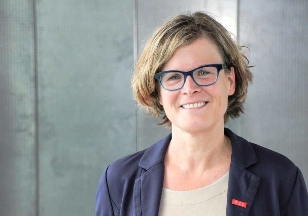 """Professorin Dr. Antje Schwalb, Sprecherin des GRK """"TransTiP"""" und Leiterin des Instituts für Geosysteme und Bioindikation der TU Braunschweig. Foto: Anne Hage/TU Braunschweig"""
