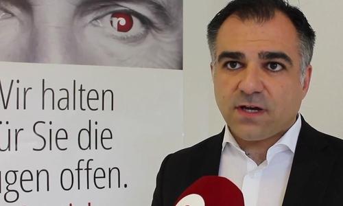 Der Braunschweiger Landtagsabgeordnete Dr. Christos Pantazis. Archivbild