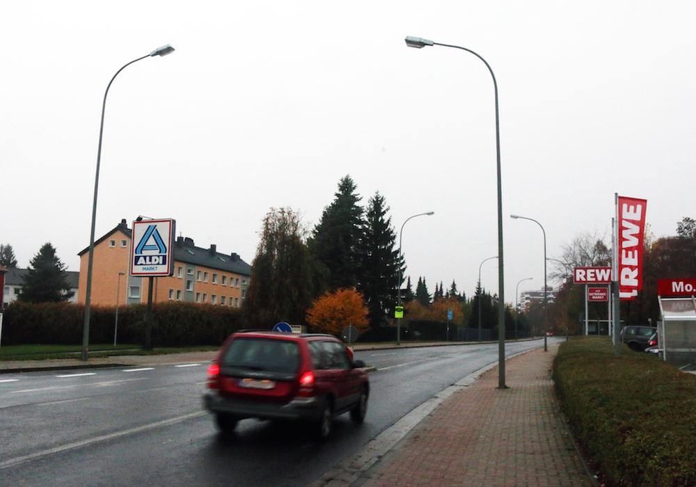 Der Straßenabschnitt zwischen dem Ginsterweg und der Cranachstraße soll saniert werden. Foto: Werner Heise