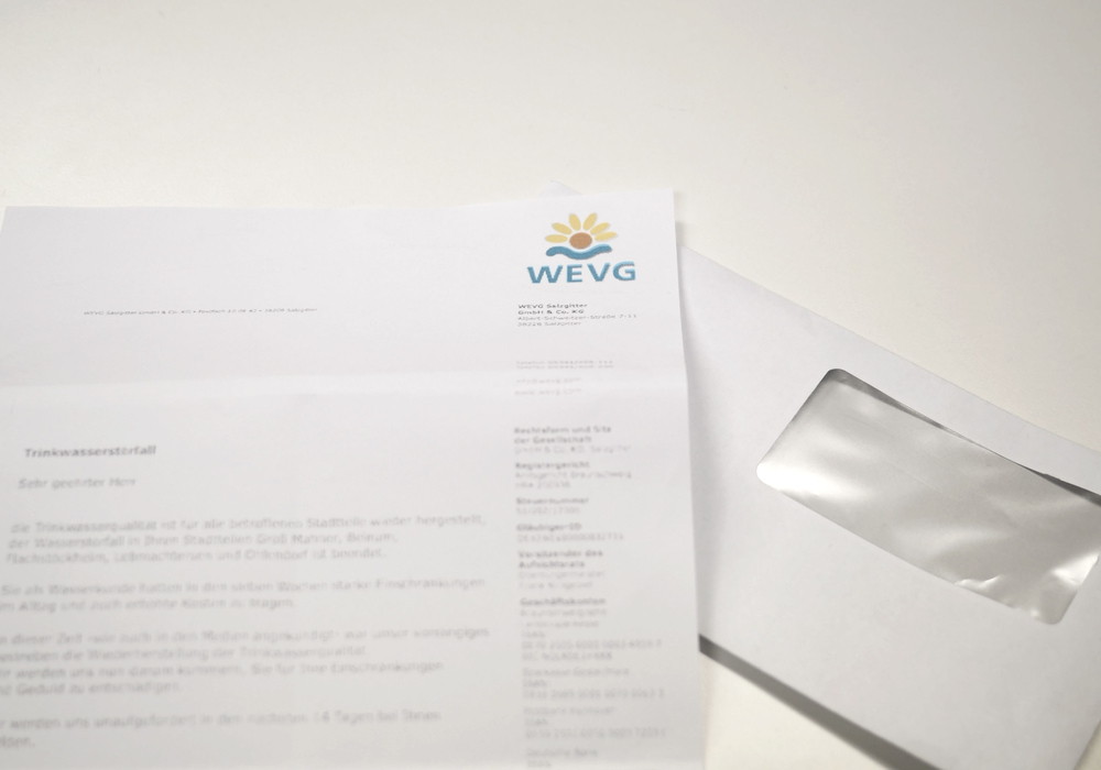 Eigentümer eines Wasserzählers bekommen Post von der WEVG. Gehen die Mieter leer aus? Foto: Alexander Panknin