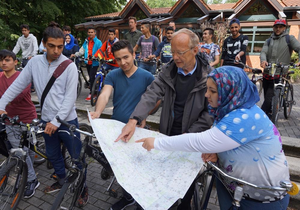 Routenplanung fürs STADTRADELN. Foto: Stadt Wolfsburg