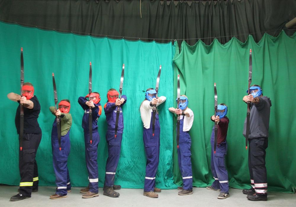 Die Jugendfeuerwehr Wendessen startet mit einer Übernachtungsfeier in  das neue Jahr. Foto: Glaeske