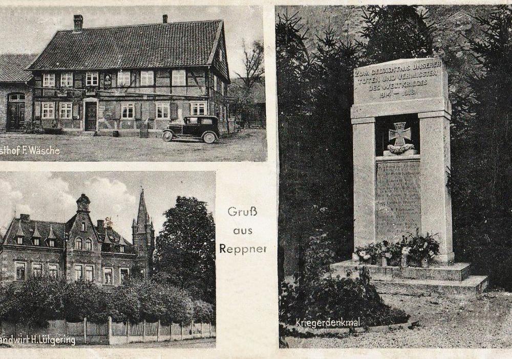 Postkarte von Reppner. Bild: Peter Görsch