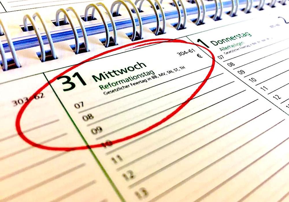 Der 31. Oktober soll neuer Feiertag werden. Symbolfoto: Anke Donner