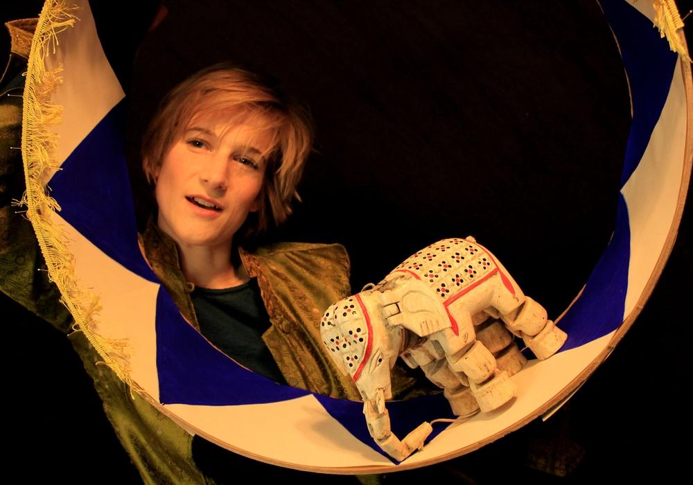 """Das Theater Fadenschein präsentiert am Wochenende mehrmals das Stück """"Das Karussell"""". Foto: Theater Miamou"""