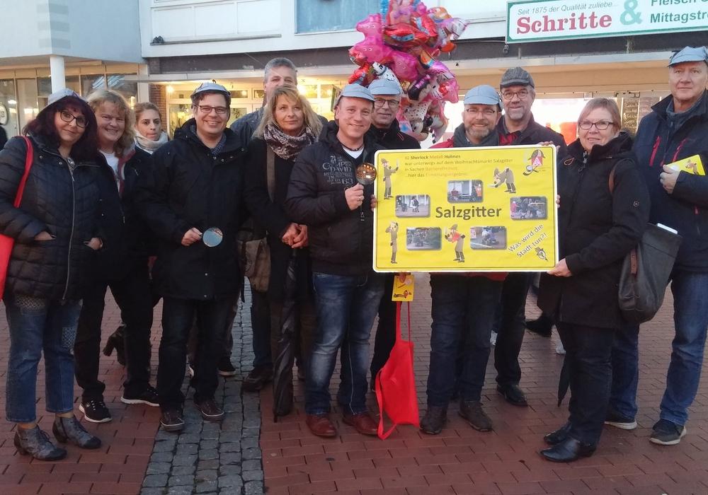 Arbeitskreis der Schwerbehindertenvertretungen der IG Metall Salzgitter-Peine fordert Abbau von Barrieren in der Stadt Salzgitter. Foto: IG Metall