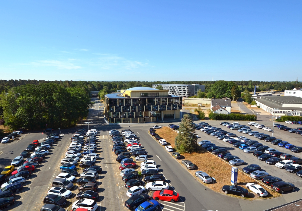 Das Parkhaus soll am 2. August eröffnet werden. Foto: Braunschweig Zukunft GmbH