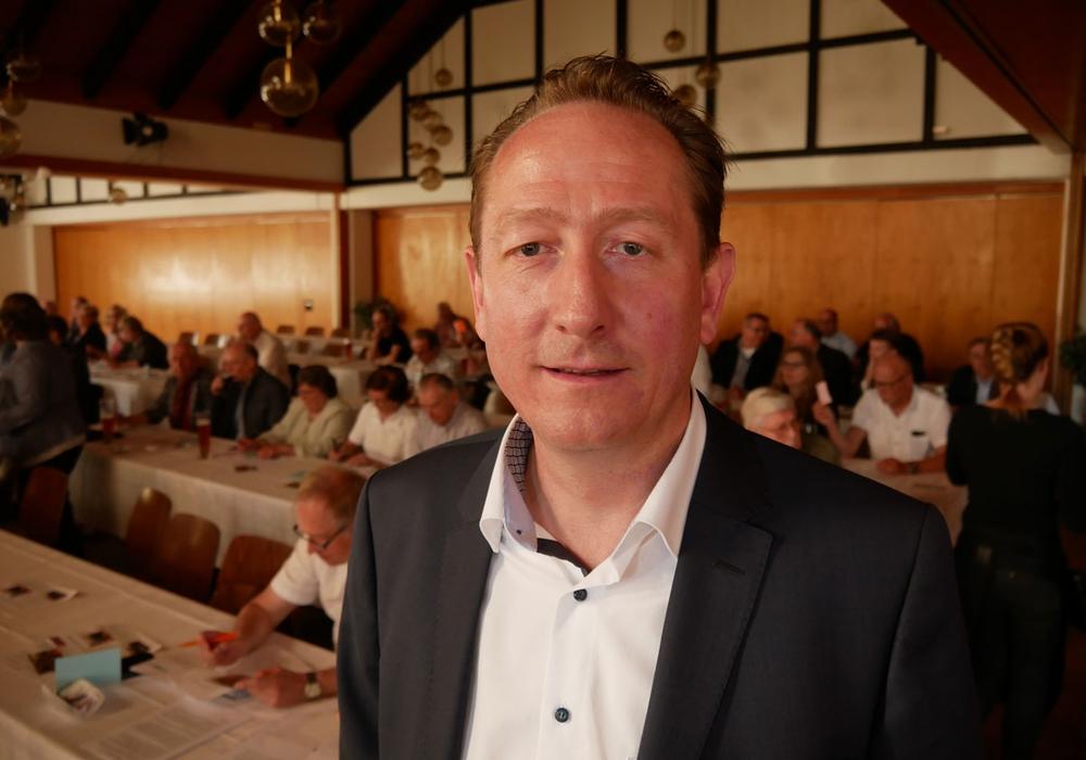 Ralph Bogisch, Vorsitzender des Wirtschaftsausschusses in Goslar. (Archivbild)
