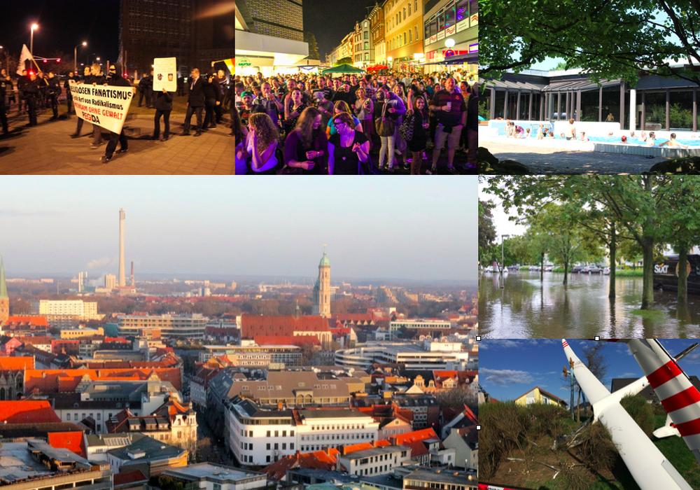 regionalHeute.de blickt auf das Jahr 2016. heute: Teil zwei. Foto-Collage: Anke Donner