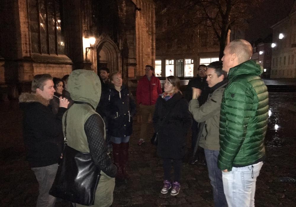 Expats erkundeteten Braunschweig. Foto: Privat