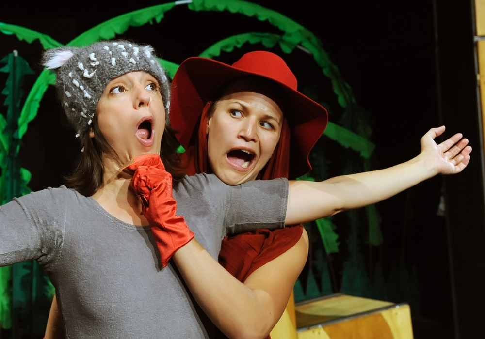 Szene aus Der Grüffelo. Foto: Theater Karo Acht