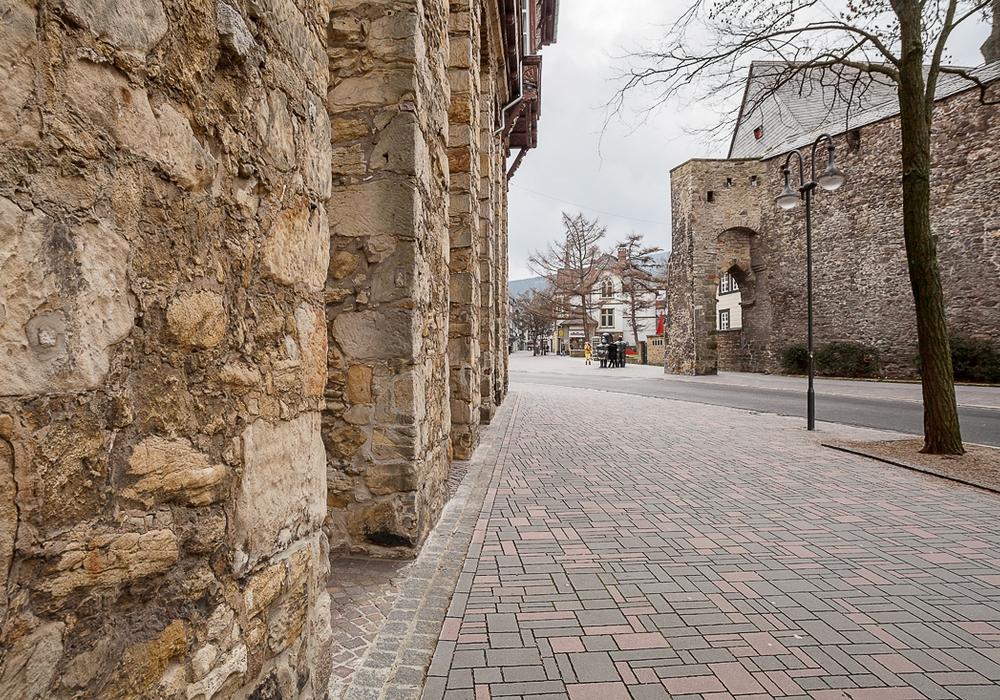 Die Woche in unserer Straßenserie: Die Rosentorstraße. Foto: Alec Pein