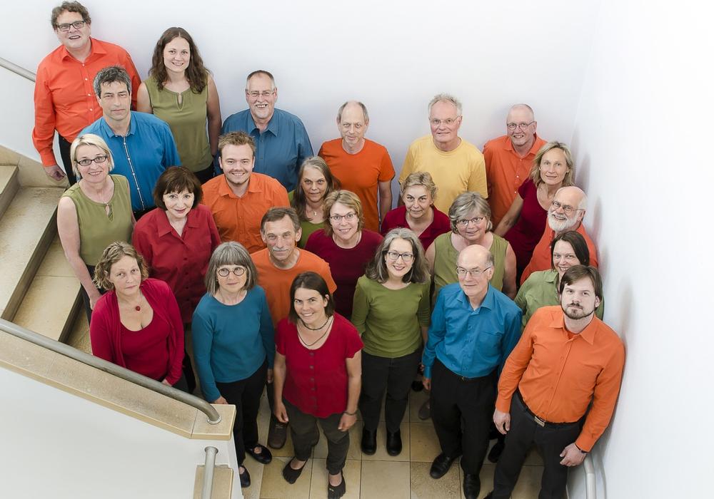Die Open Voices singen am Sonntag in der Magni-Kirche. Foto: Veranstalter