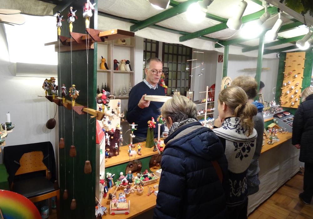 Weihnachtsmarkt im Schloss. Foto: Privat