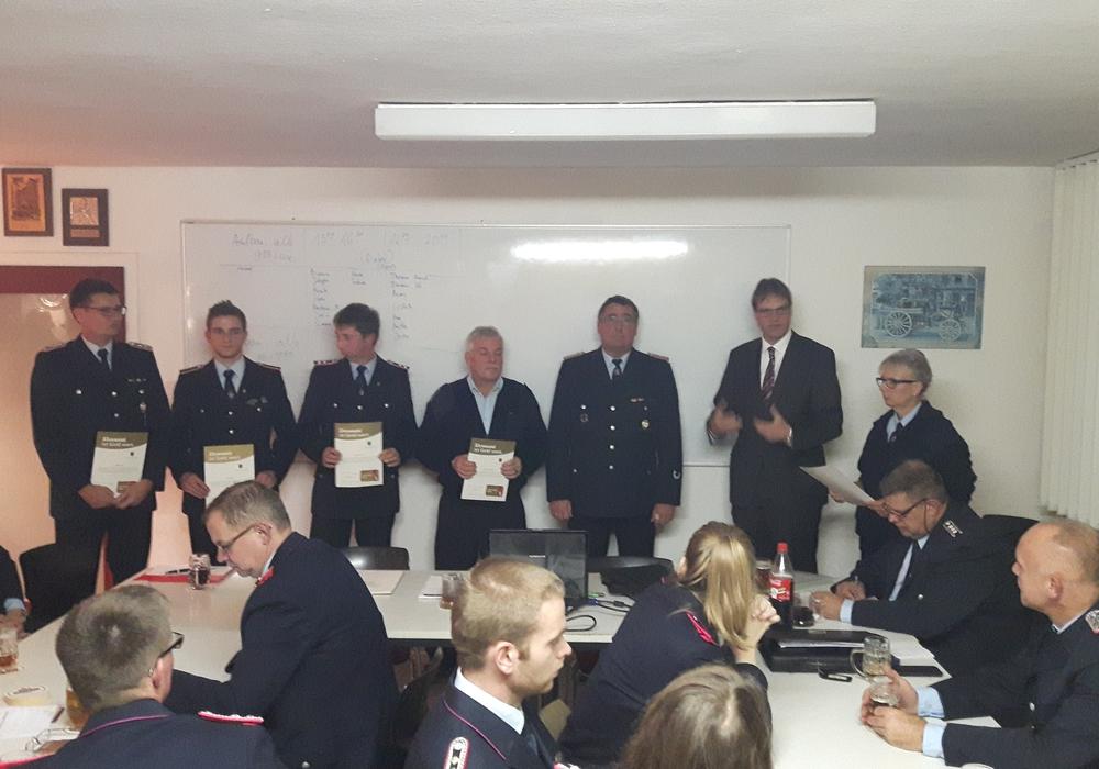 Die Feuerwehr Destedt plante das nächste Jahr Foto: Privat