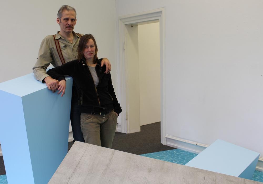 Lotte Lindner und Till Steinbrenner studierten an der HBK in Braunschweig. Fotos: Nick Wenkel
