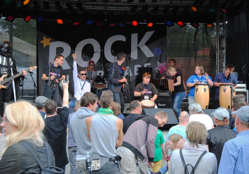 Die Band Underrock spielt im Café Muck. Foto: Band