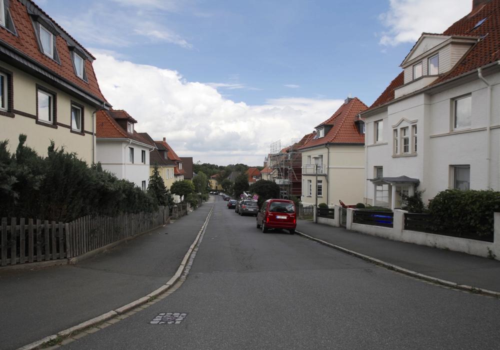Die Ludwig-Jahn-Straße im Siemensviertel. Foto: Alec Pein