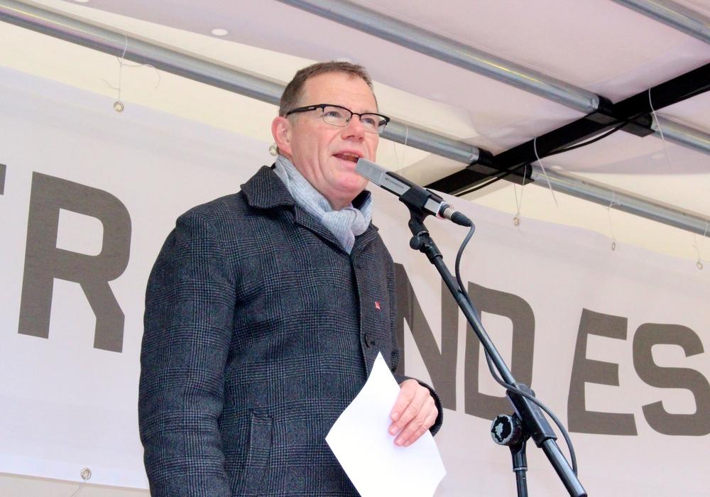 ver.di-Geschäftsführer Sebastian Wertmüller,  Foto: Sina Rühland