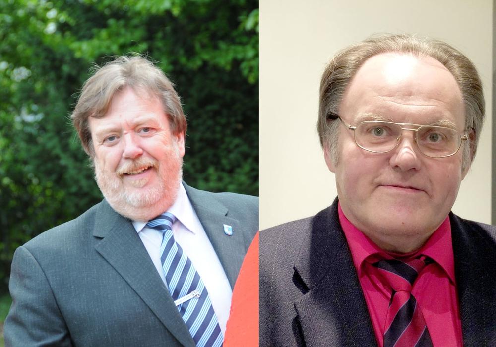 Heinz-Rainer Bosse und Siegfried Hauptstein. Fotos: SPD