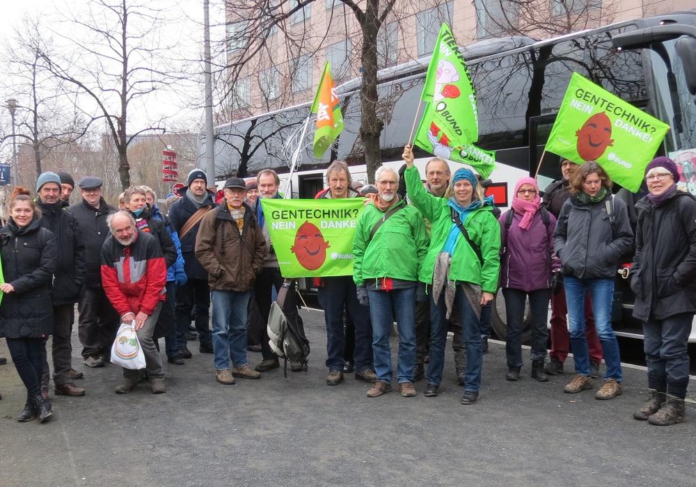 Wolfenbütteler fahren auch diese Jahr wieder zur Großdemo in Berlin für eine bäuerliche, ökologische und faire Landwirtschaft. Foto: BUND