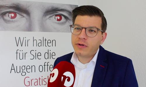Björn Försterling, FDP-Landtagsabgeordneter aus Wolfenbüttel.