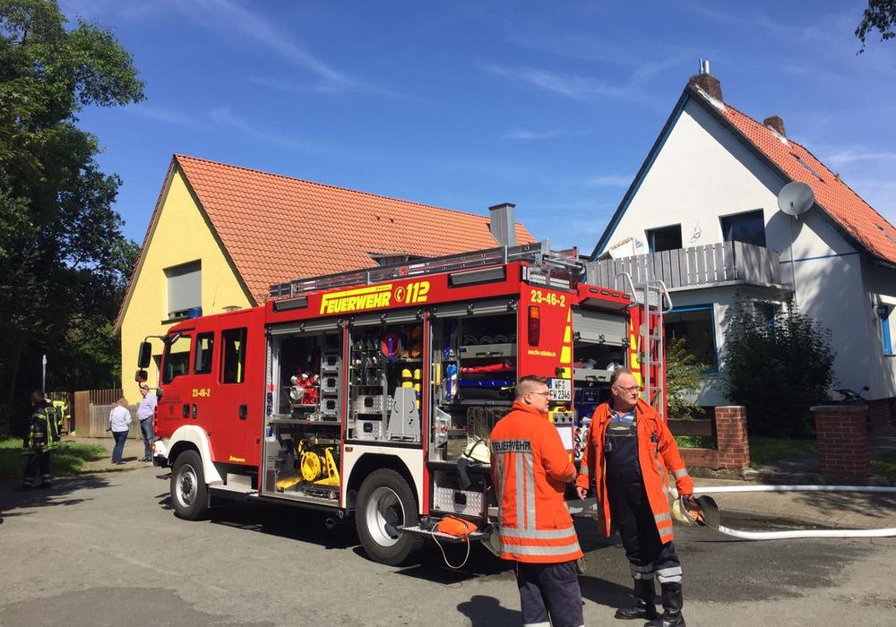 Die Feuerwehr fand kein Feuer im Kindergarten in der Stettiner Straße vor. Foto: Anke Donner