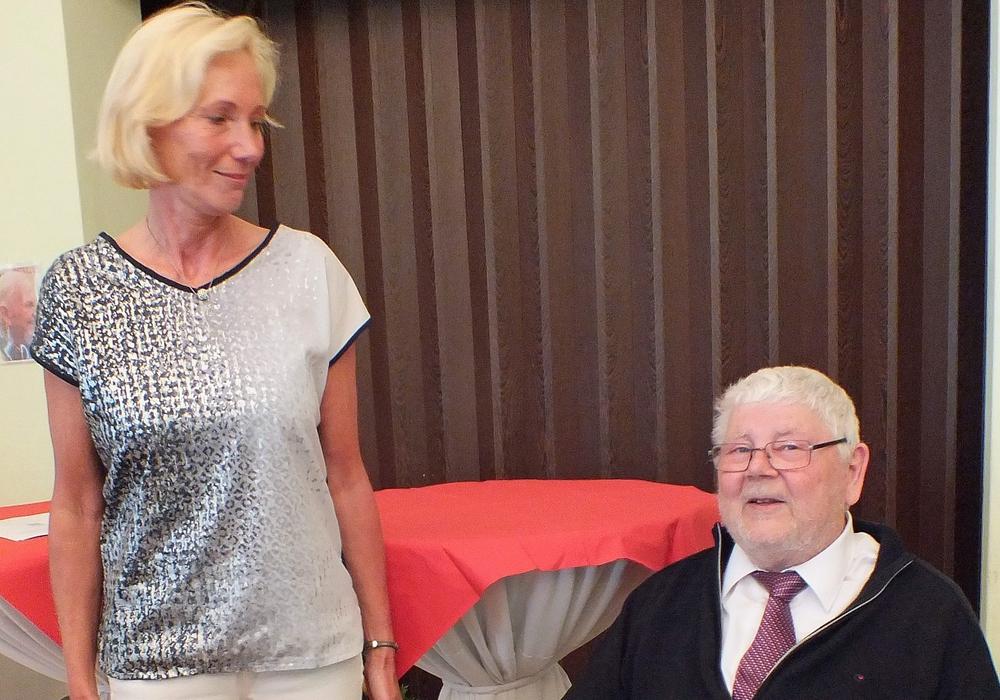 Viola Vorbrod mit dem Bürgerpreis der SPD ausgezeichnet. Foto: Kreisverkehrswacht Helmstedt
